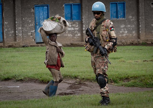 Pacificador de la ONU en Congo