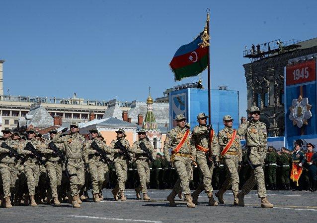 El Ejército de Azerbaiyán (archivo)