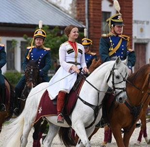 Así son los jinetes de la Escuela de Equitación del Kremlin