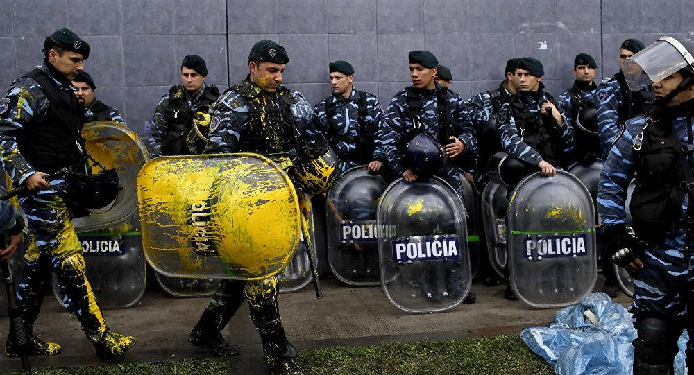 Argentina: Violento desalojo en planta de multinacional