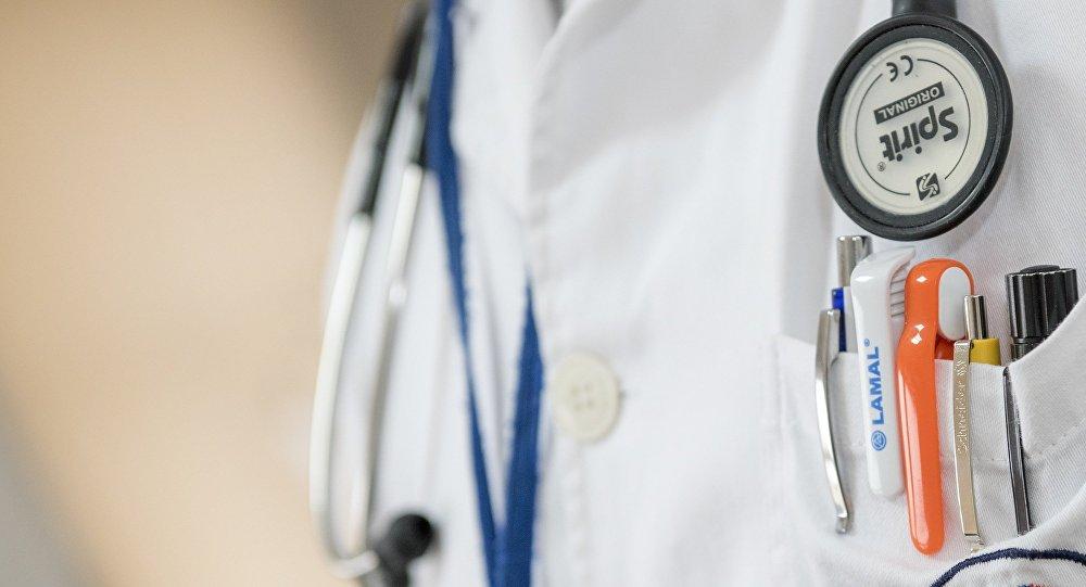 Un médico (imagen referencial)