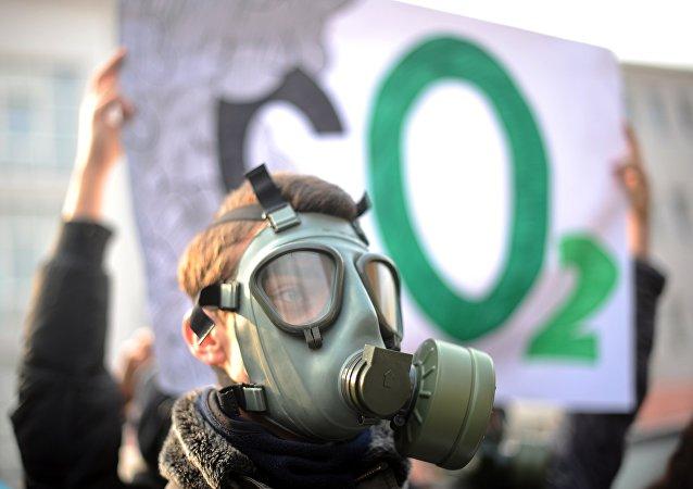 Protesta de ecologistas (archivo)