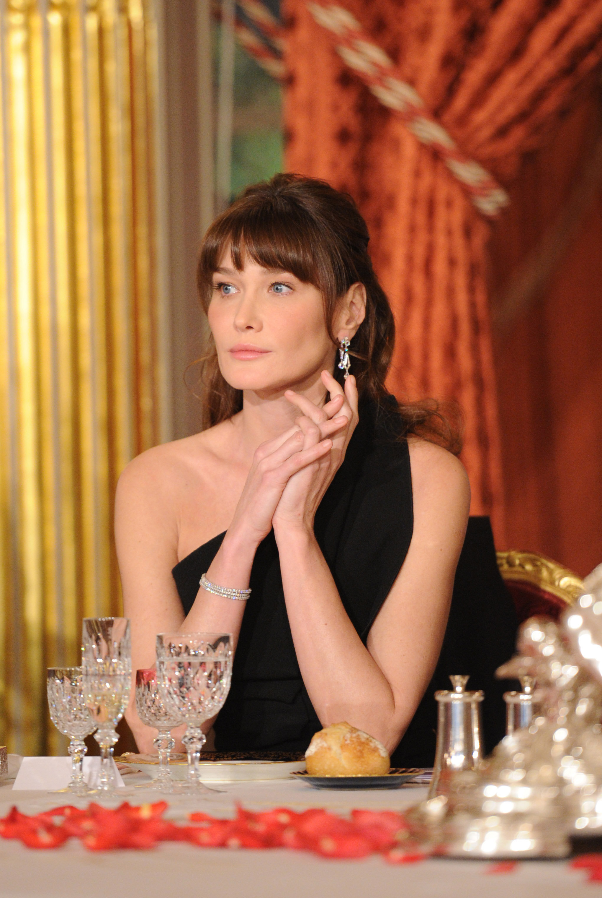 Carla Bruni, ex primera dama de Francia