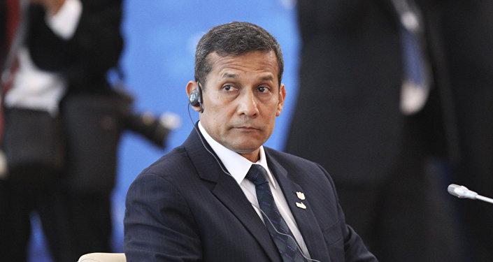 El expresidente de Perú Ollanta Humala