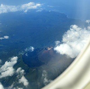 Una de las islas Kuriles