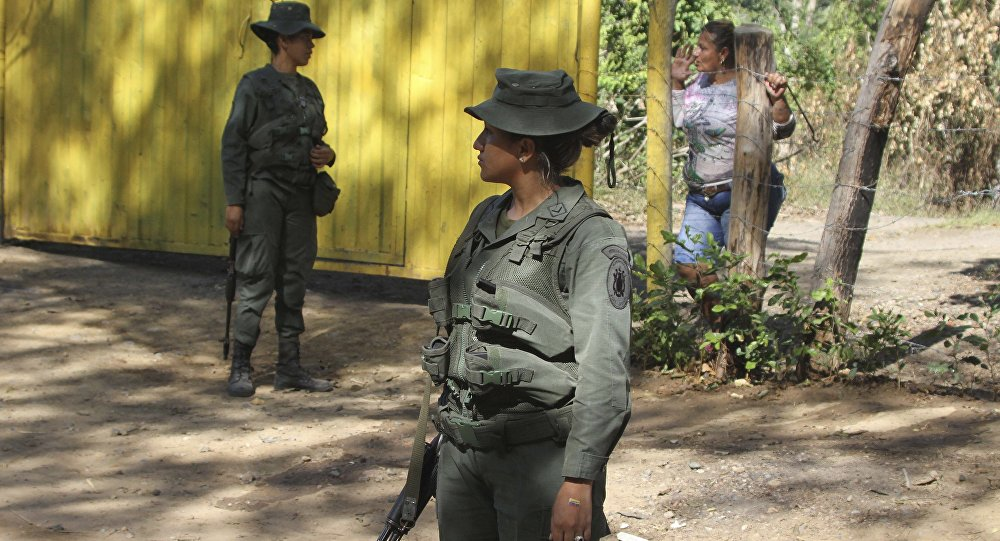 Policía venezolana en la frontera con Colombia (archivo)