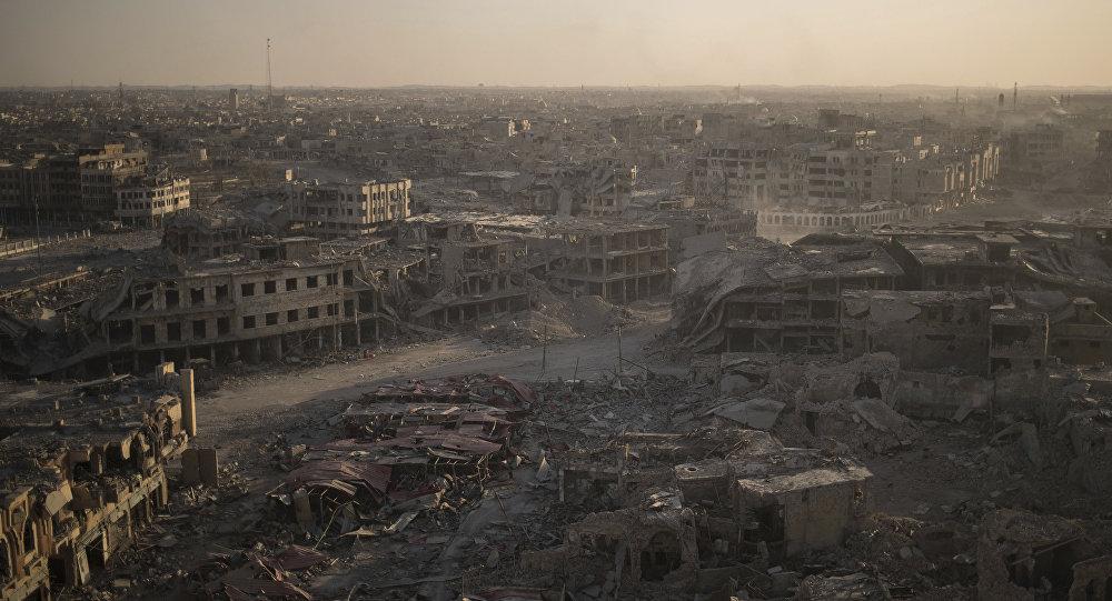 Zona oeste de Mosul, en Irak (archivo)