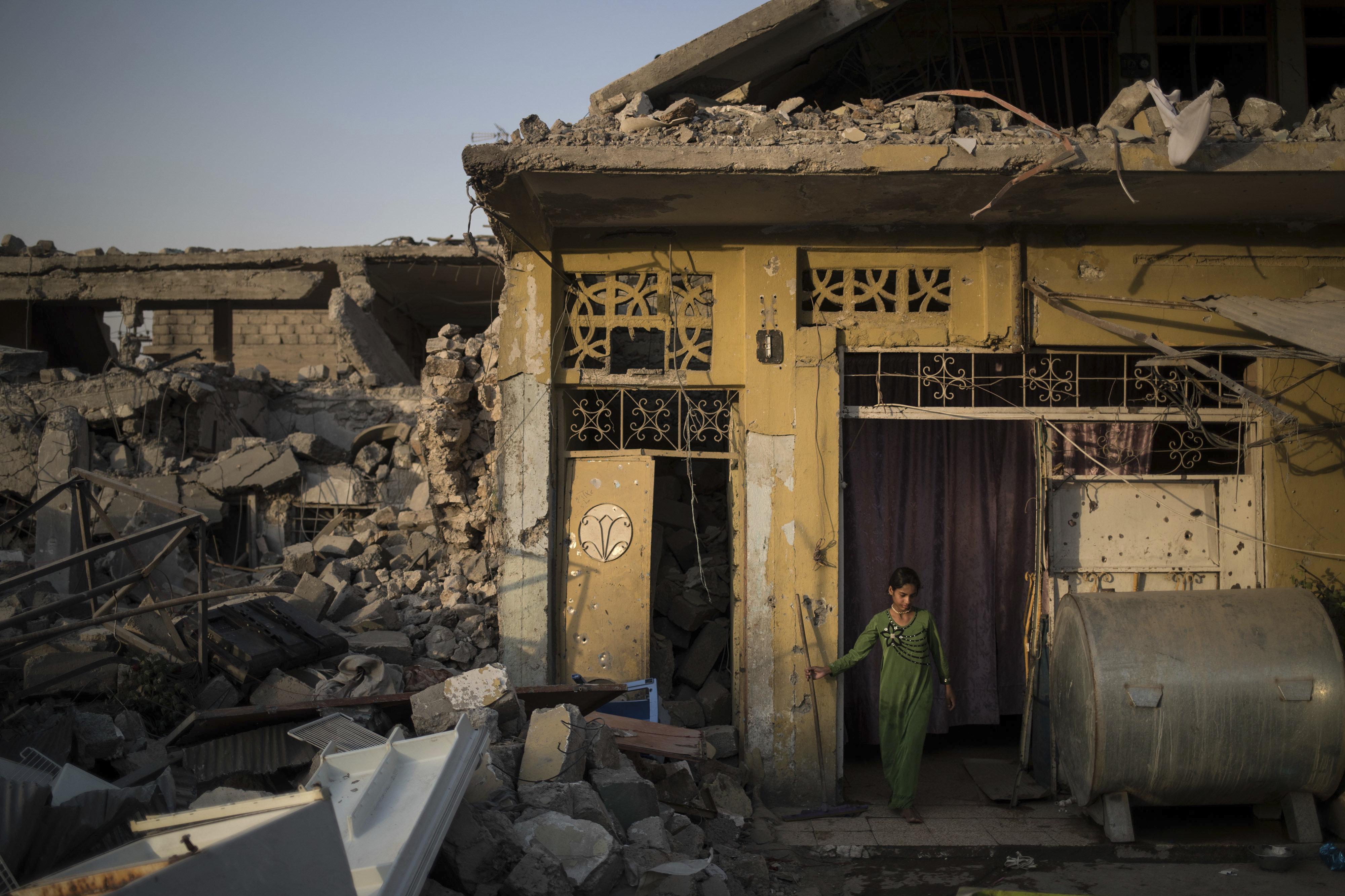 Una niña en Mosul