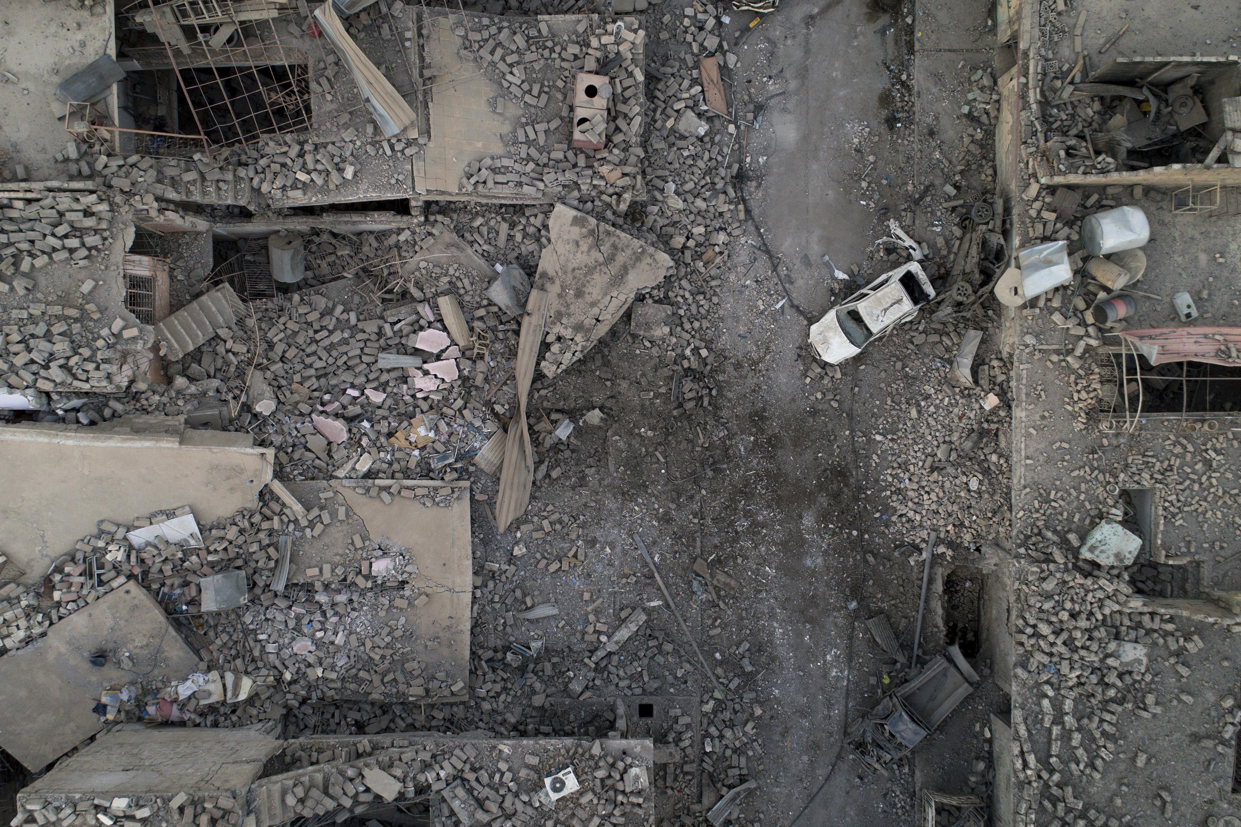 Zona oeste de Mosul