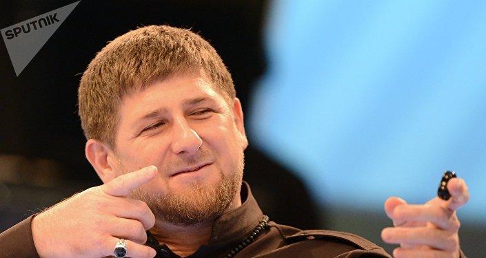 Ramzán Kadírov, líder de la República de Chechenia