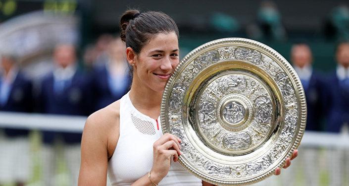 Garbine Muguruza, la ganadora de Wimbledon
