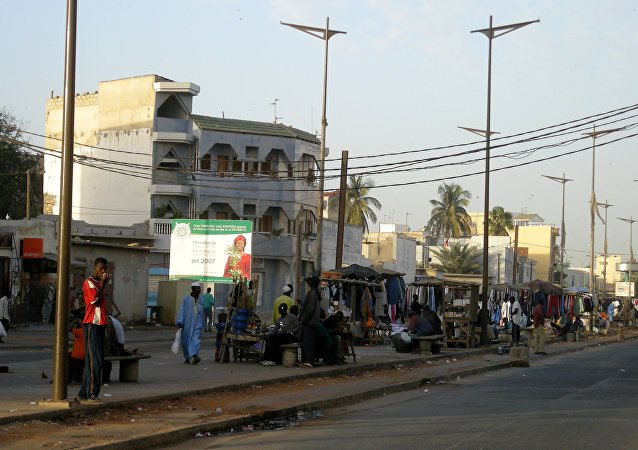 Dakar, la capital de Senegal