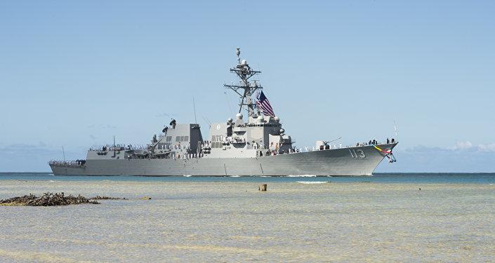 USS John Finn, el destructor de EEUU