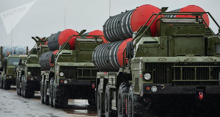 Sistemas de misiles antiaéreos S-400 'Triumf'