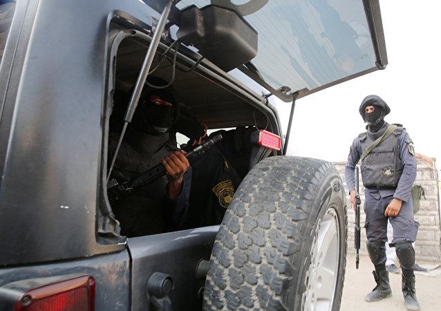 Policía de Egipto (archivo)
