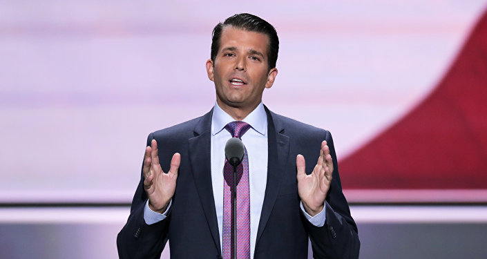 Donald Trump, Jr., hijo del presidente de EEUU (archivo)