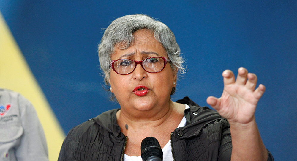 Tibisay Lucena presidenta del Consejo Nacional Electoral de Venezuela