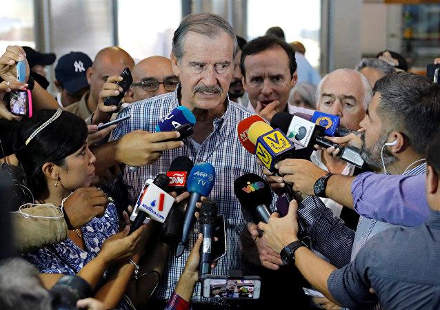 Vicente Fox, expresidente de México