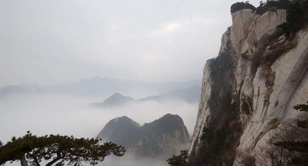 El monte Hua en China