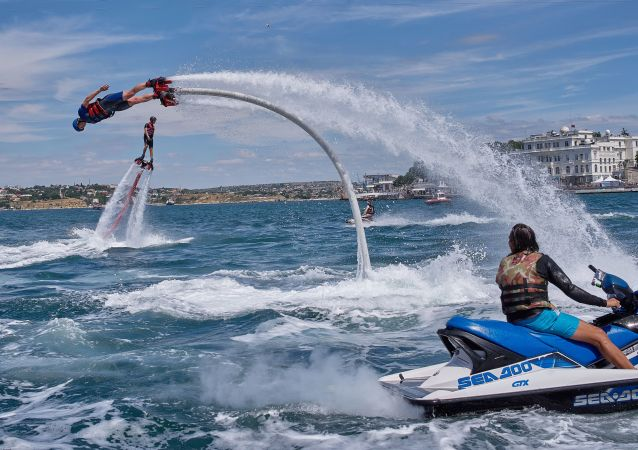 Cuando el sueño de volar se hace realidad: deportes extremos en el X Fest en Crimea