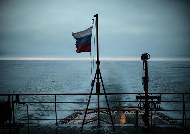 Rusia estrena el primer rompehielos fabricado en serie para el Ártico