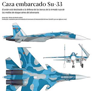 Su-33, a la defensa de la Armada rusa