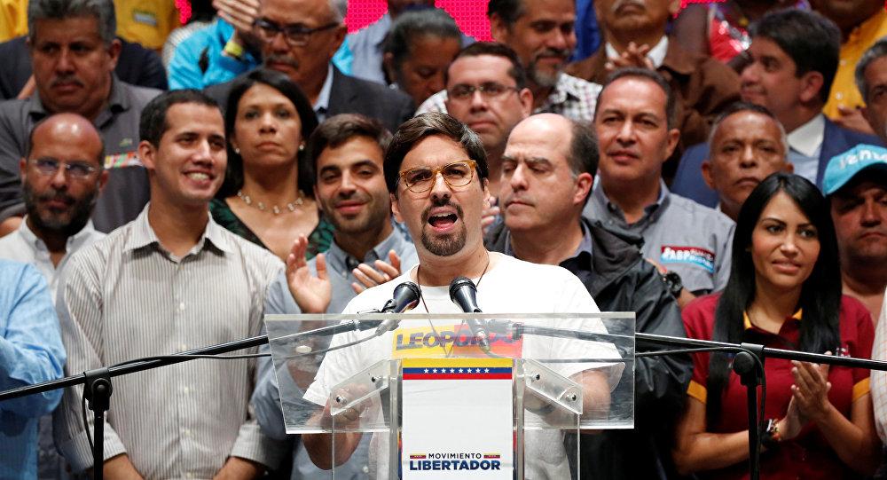 Freddy Guevara, vicepresidente de la Asamblea Nacional venezolana