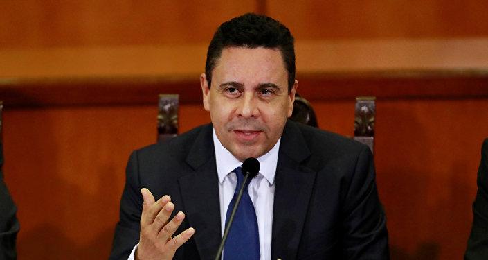 Samuel Moncada, representante permanente de Venezuela ante la ONU (archivo)