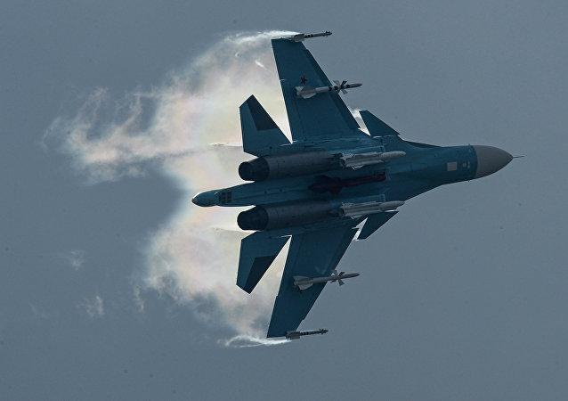 Avión ruso Su-34 (archivo)