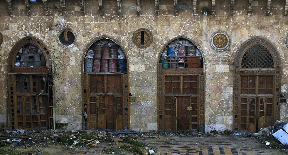 La destrucción en Siria (archivo)