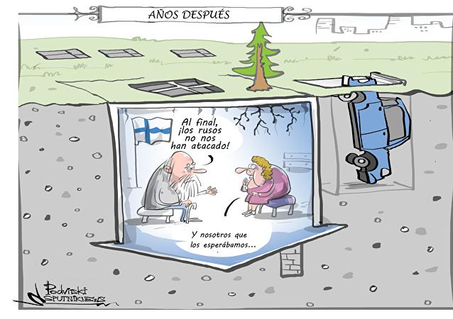 ¡Que vienen los rusos! Finlandia 'excava la tierra' para protegerse de Rusia