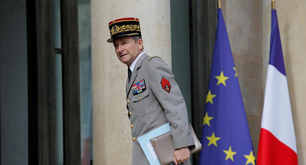 El jefe del Estado Mayor de las Fuerzas Armadas francesas, general Pierre de Villiers