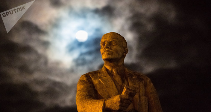 Un monumento a Vladímir Lenin (archivo)