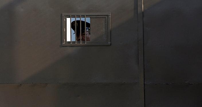 Un policía mexicano (imagen referencial)