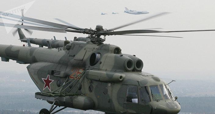 EL helicóptero Mi-17