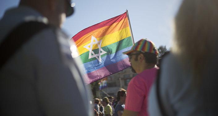 El desfile de orgullo gay en Israel (archivo)
