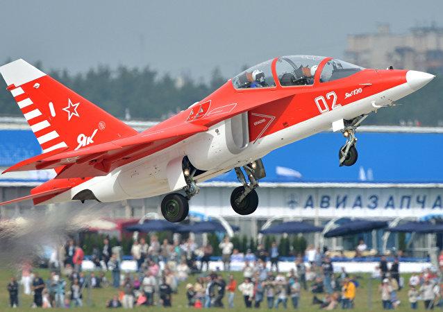 El Yak-130 (archivo)