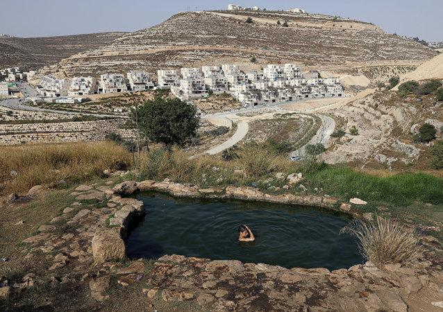Las afueras de Jerusalén, Israel