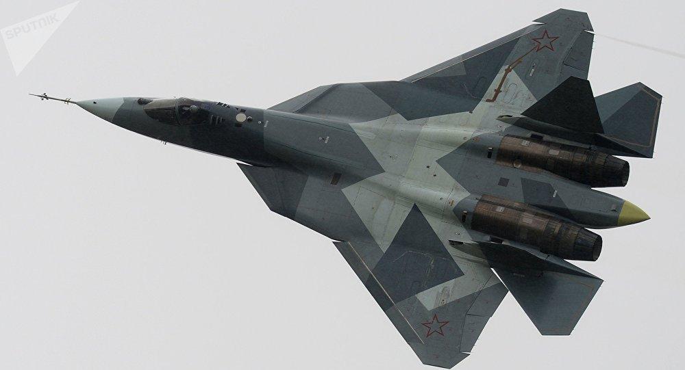 Caza T-50, posible portador de armas hipersónicas (imagen referencial)
