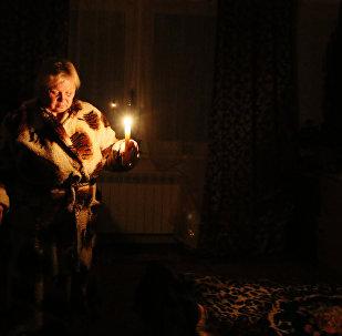 Apagón en Crimea