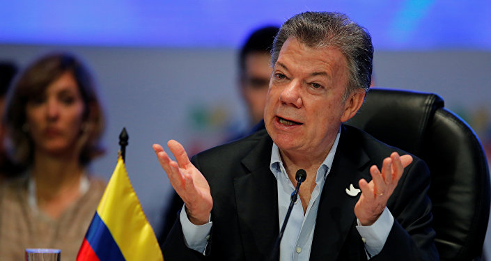 Juan Manuel Santos, presidente de Colombia (archivo)