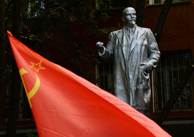 El monumento de Lenin en Vladivostok (imagen referencial)