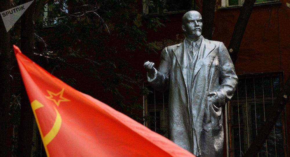 El monumento de Lenin (imagen referencial)