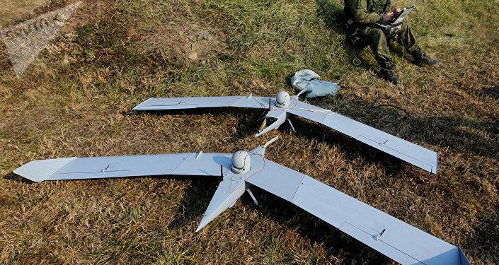 Drones rusos del complejo Zastava (archivo)