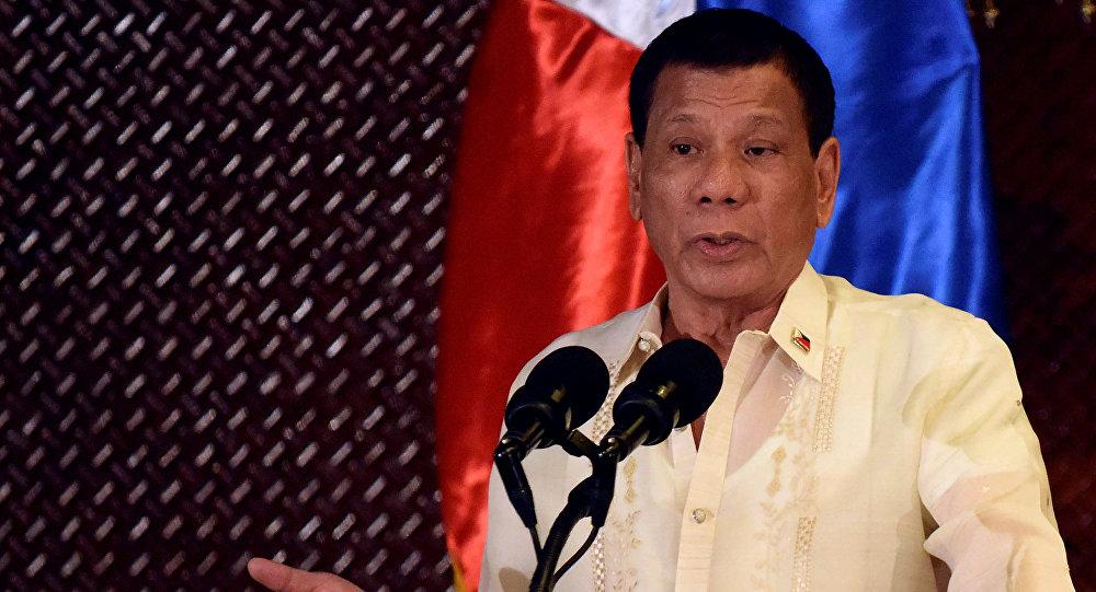 Rodrigo Duterte, presidente de Filipinas (archivo)
