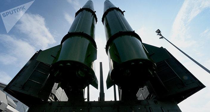 El sistema de misiles Iskander-M (imagen referencial)