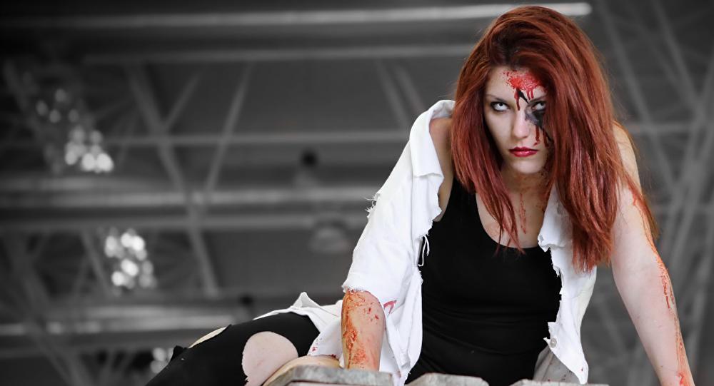 Una zombi (imagen referencial)