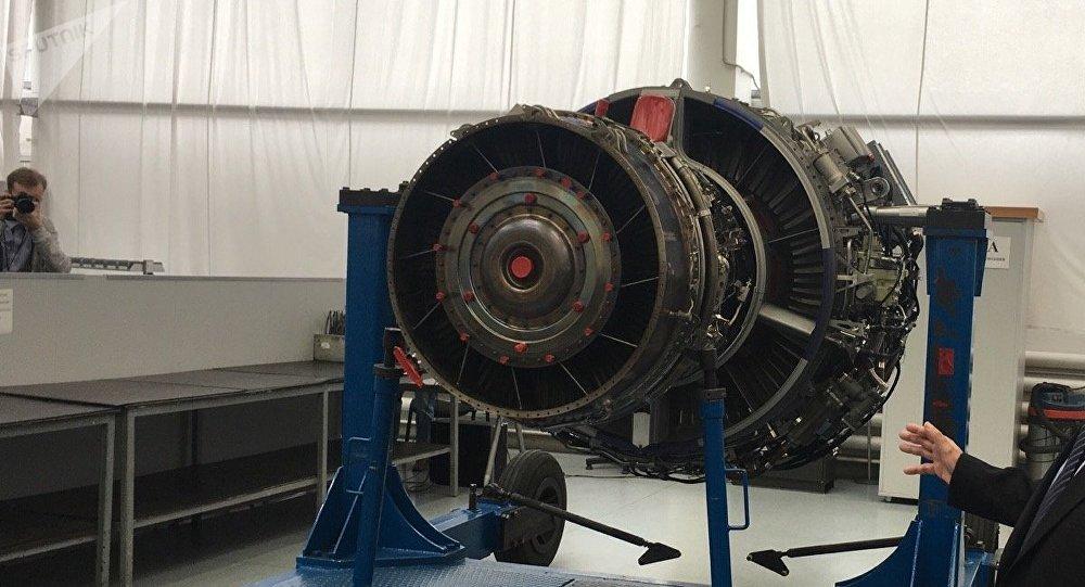 Un motor de avión (imagen referencial)