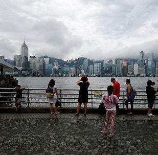 Tormenta Roke en Hong Kong