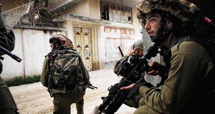 Varios soldados de Israel